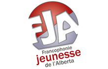 Francophonie jeunesse de l'Alberta logo